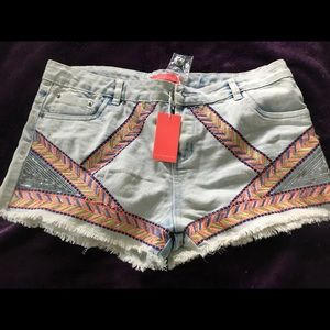 Lulumari Denim Sexy Shorts